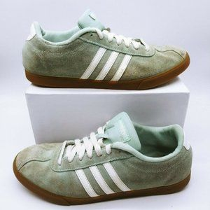 Adidas B44626 Courset Teal White Sneakers Size 11